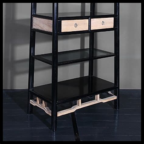 Open Back Bookcase Furniture Open Back Tapered Bookcase Acf China