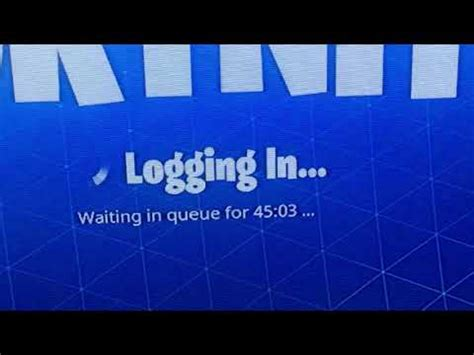 fortnite queue times fix how fortnite battle royale waiting in queue fix