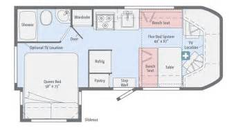 Winnebago Class C Motorhomes Floor Plans by Winnebago Fuse Class C Motorhome Chilhowee Rv Center