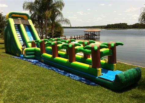 water bounce house rental frozen bounce house jacksonville florida party invitations ideas