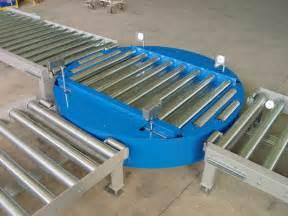 Roller Tables Mesa Giratoria Con Rodillos Motorizados Ttrm 100