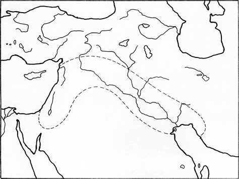 mesopotamia map coloring page free coloring pages of fertile crescent