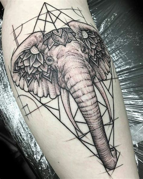 tattoo elephant geometric 25 best ideas about geometric elephant tattoo on