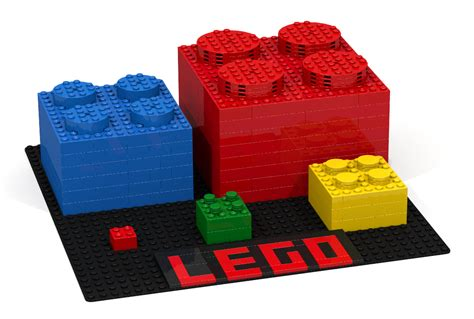 big lego bricks lego ideas big red brick