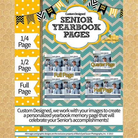 yearbook templates for pages mac yearbook ad template custom designed full 1 2 1 4 page