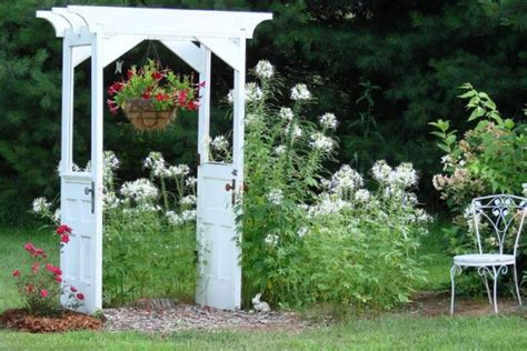 Garden Arch Materials Snazzy Re Purposed Garden Arches Flea Market
