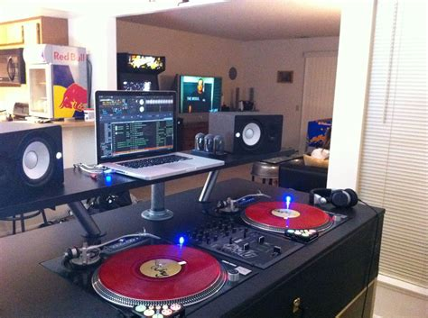 home dj studio setup quotes