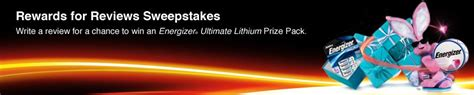 Ultimate Rewards Sweepstakes - energizer ultimate lithium review and giveaway the mama report