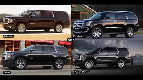 gmc suburban vs chevy suburban 2015 chevy suburban vs gmc yukon xl 2017 2018 best