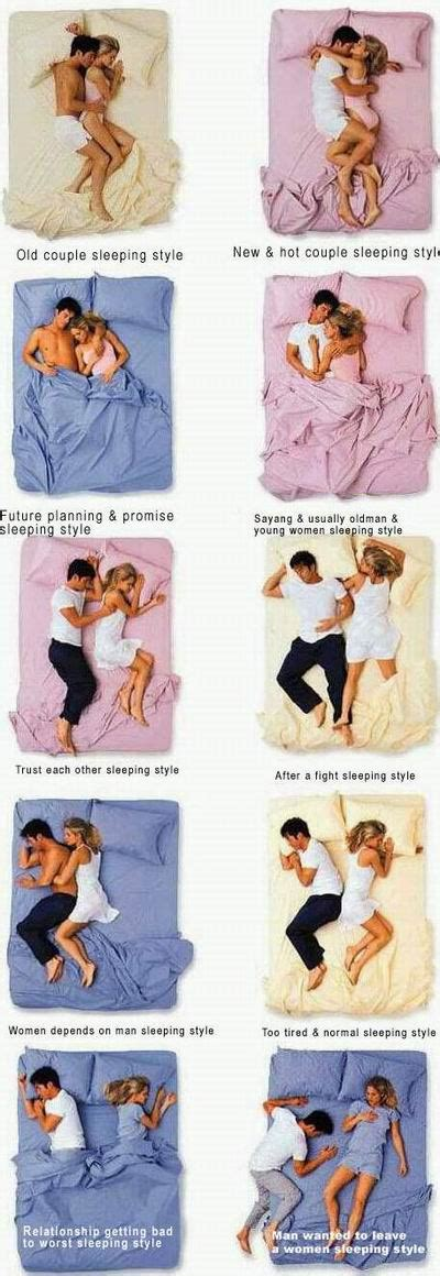 Couples Sleeping Meme - sleeping positions pictures are fun