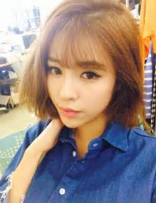 hair cut in seoul ulzzang short hair asian style pinterest ulzzang