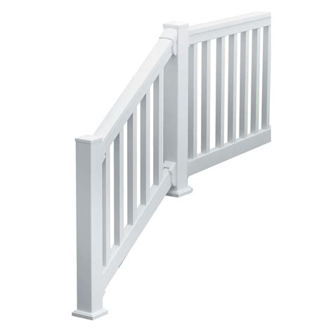 Square Stair Spindles Fypon Ltd 740836sqds Quickrail Stair Kit With Square