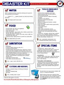 non emergency manual template emergency survival kit list search earthquake