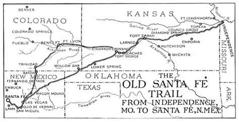 california trail map kansas santa fe trail bike for diabetes