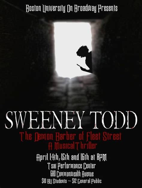 todd bedard tb2boyz the tale of sweeney todd 187 my theatre my entertainment world