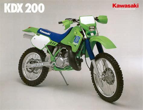 Kawasaki Ktm 200 Kawasaki Kdx 200 1989 Vinduro