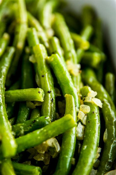 how to cook fresh green beans so they actually taste nice