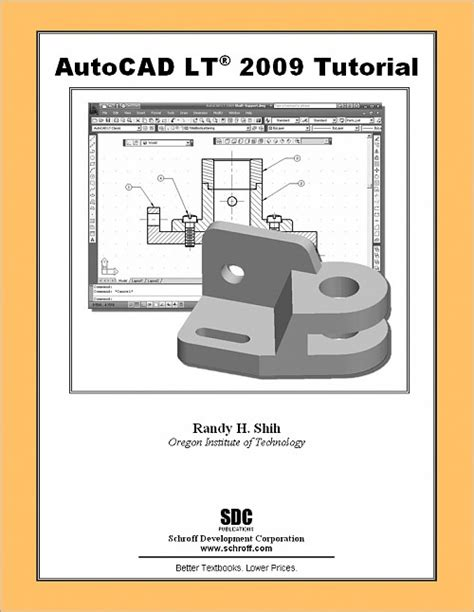 tutorial autocad lt pdf autocad lt 2009 tutorial book isbn 978 1 58503 452 9