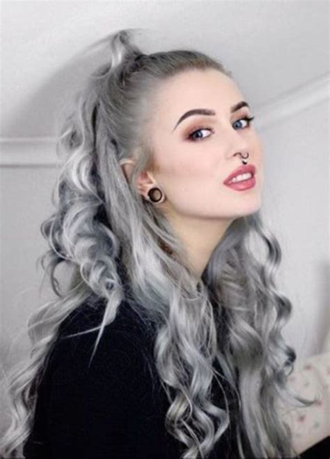 40 cool grey hairstyles ideas 187 ecstasycoffee