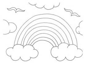 rainbow coloring page coloring pages of rainbows az coloring pages
