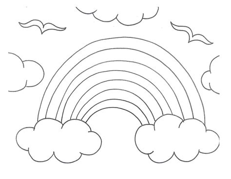 Coloring Pages Rainbow by Free Coloring Pages Of R Is For Rainbow
