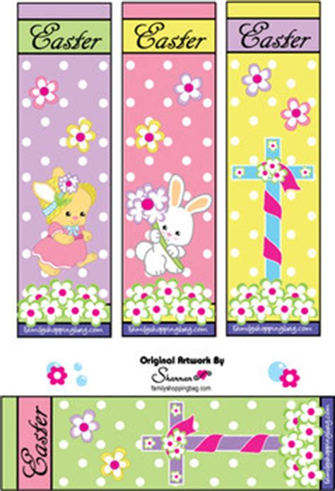 bookmarks  easter bookmarks  printable ideas