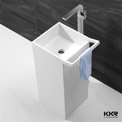 solid surface bathroom sinks acrylic solid surface freestanding bathroom basin sinks