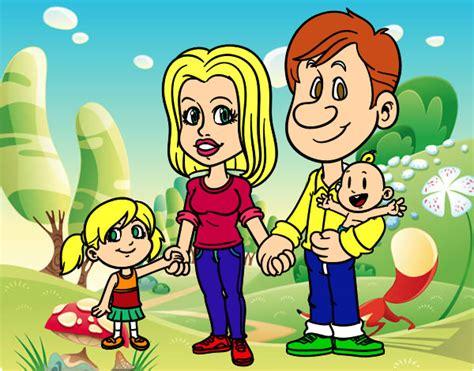 imagenes de la familia animadas imagenes de familias en dibujos animados bonitas