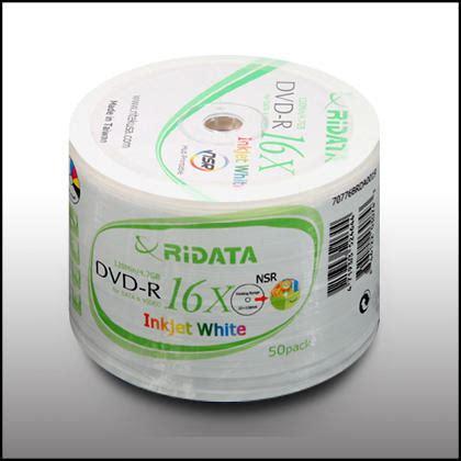 On Sale Sony Dvd R 50pcs Spesial ridata inkjet printable dvd r 16x 4 7g 50pcs 123inkcartridges 123ink ca canada