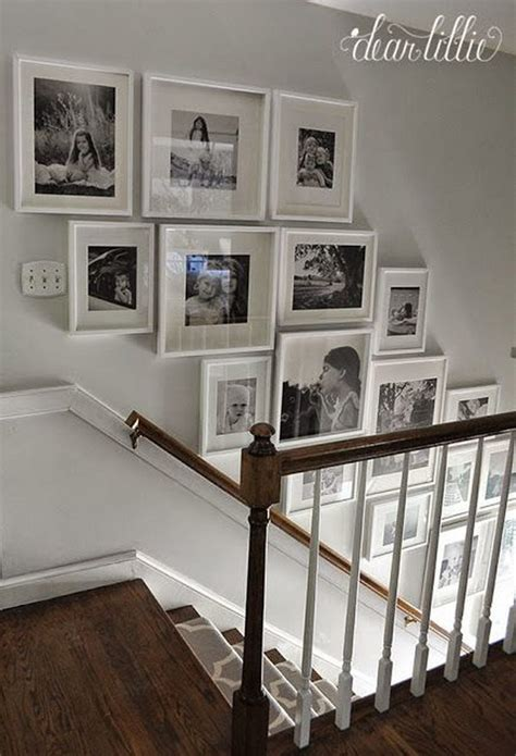 best gallery walls chic ways to decorate your staircase wall noted list