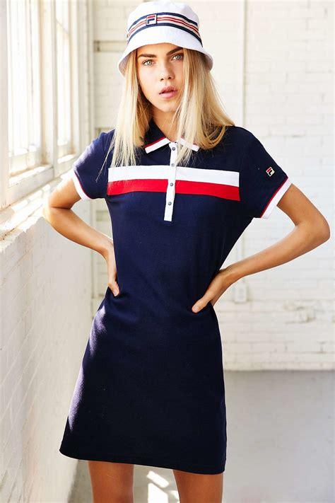 Sweater Urgan 38 Original Termurah Se lyst fila uo polo dress in blue