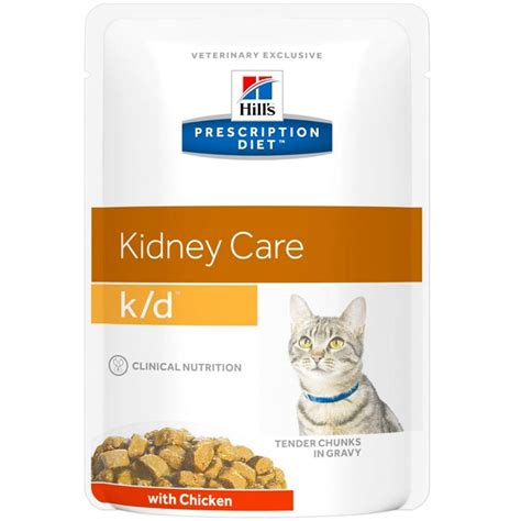 kd food prescription diet feline k d renal health cat food 85g vet medic