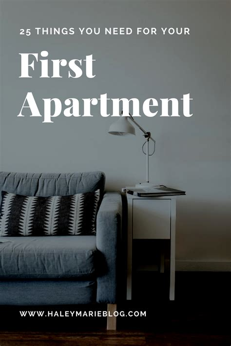 things you need for first apartment haley marie 25 things you need for your first apartment