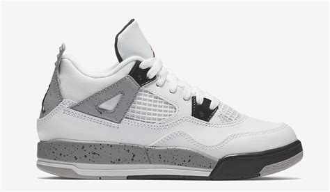 Nike Air 4 Retro Og 89 White Cement Sneakers Pria Premium nike air 4 og 89 retro white cement
