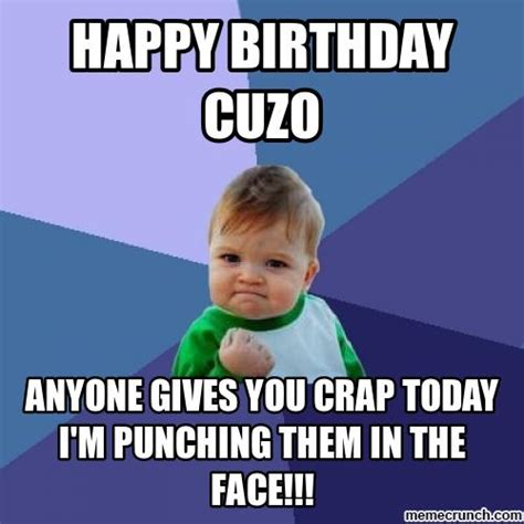 Cousin Meme - happy birthday cousin