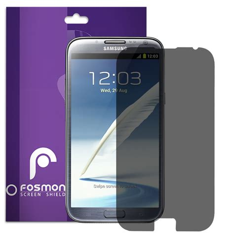 screen protector galaxy note 2 3 privacy anti lcd screen protector cover guard for