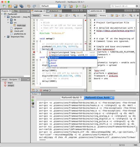 design html in netbeans netbeans platformio 3 5 3rc1 documentation