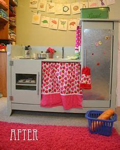 repurpose old furniture into a cute girly play kitchen repurpose jenny lind changing table diy pinterest