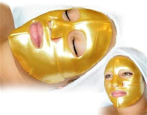 Gold Bio Collagen Mask Masker Wajah Collagen Gold best anti aging masks in the market