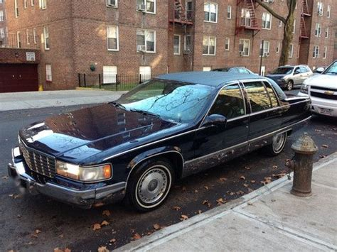 find used 1996 cadillac fleetwood brougham sedan 4 door 5 7l 1 owner excellent condition in buy used 1996 cadillac fleetwood brougham sedan 4 door 5 7l in forest hills new york united