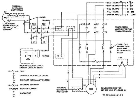 central ac unit motor wiring diagram get free image
