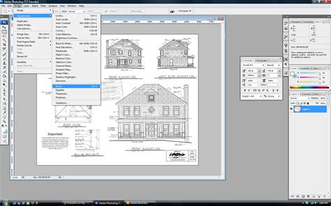 vintage house blueprints make vintage blueprint artwork from your house plan with