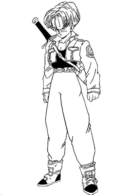 imagenes blanco y negro dragon ball z dibujos para colorear de dragon ball z