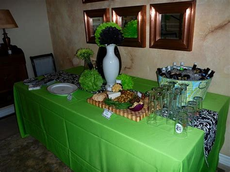 green table decorations black green table decorations photograph centerpieces