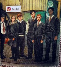harry potter coloring book instagram pin by irina on harry potter artworks
