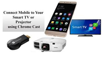 connect mobile how to connect mobile to your smart tv or projector using
