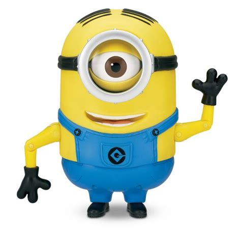 me minions dave talking action figure minion stuart minion