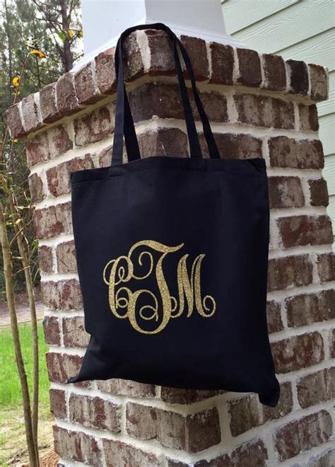items similar  monogram tote bag monogrammed canvas