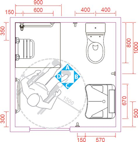 attraente Bagno Per Disabili Dimensioni Minime #1: config-2-big.jpg