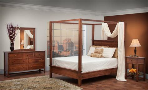 shaker style bedroom sets modern shaker style canopy bedroom set